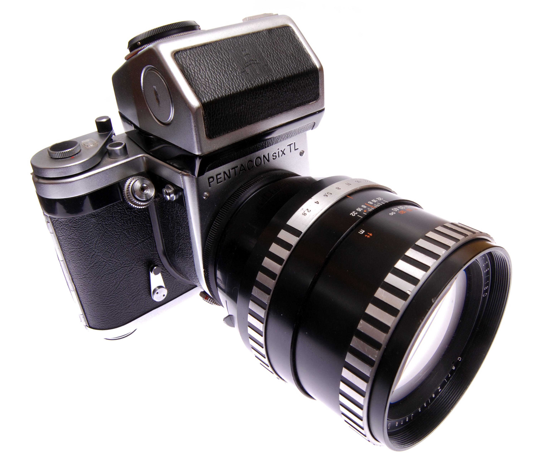 Carl Zeiss Flektogon 1:4 50mm Aus Jena Objektiv Für Pentacon Six Hohe QualitäT Und Preiswert Analogkameras