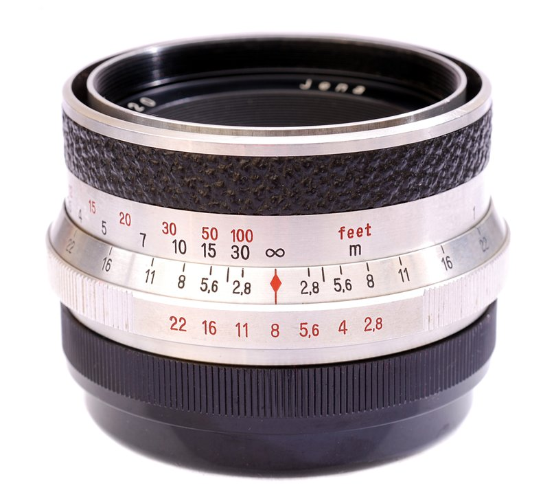 Zeiss Jena Tessar 2,8/80mm