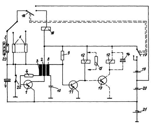 Elektrisches Schema Blitzsystem