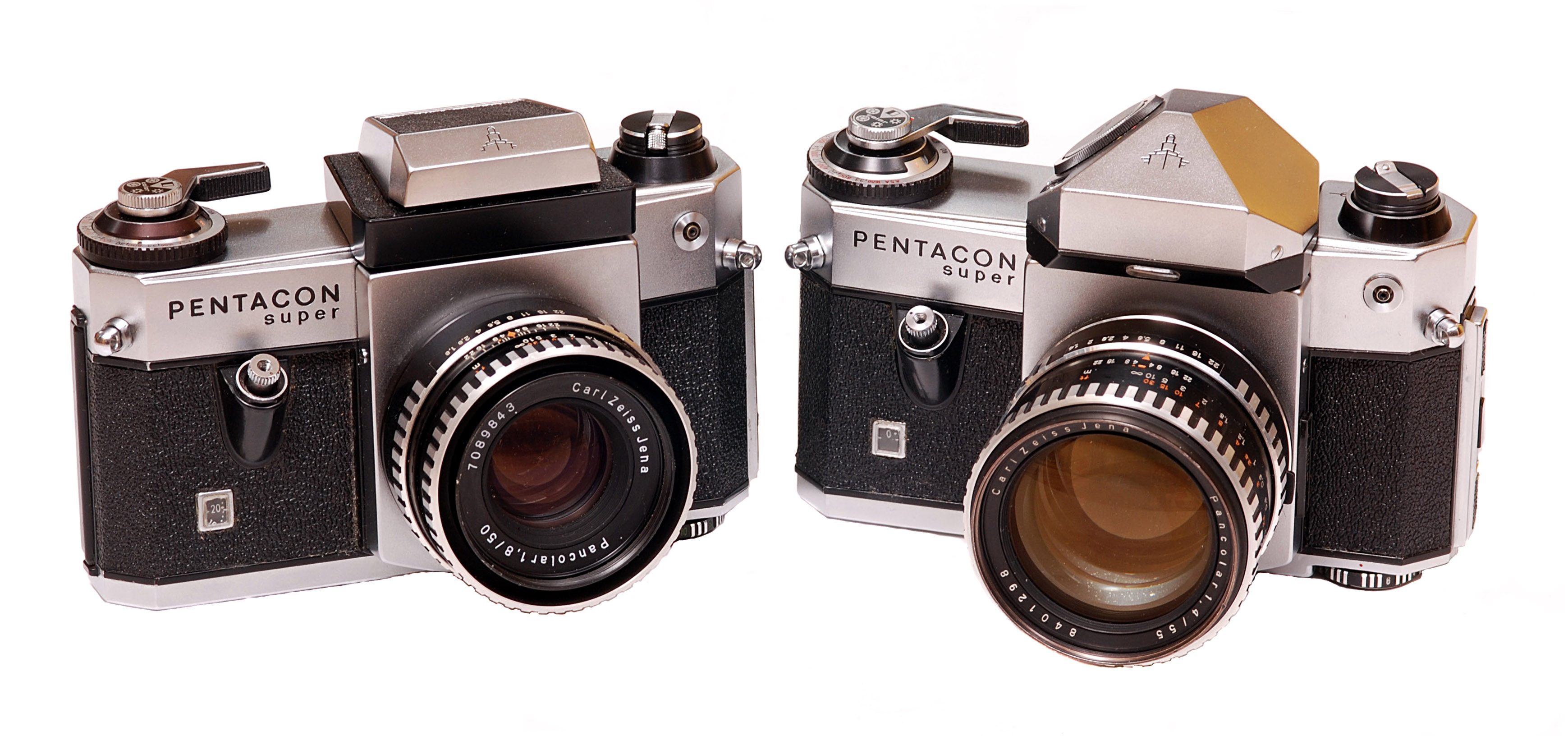 Pentacon Super prism- and waist level finder